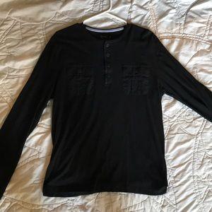 Black long sleeve express shirt